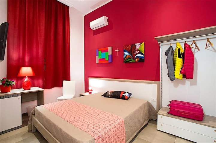 LA ROCCA SCAVATA - B&B - Rilievo - 家庭式旅館