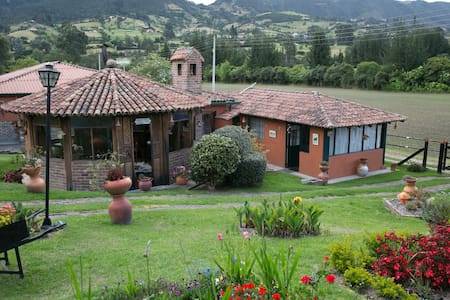 Finca el Refugio, Tabio www.fincaelrefugio.co - Tabio - Zomerhuis/Cottage