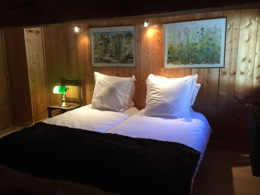 Eclectic chalet room le tour at ski mtb slopes for Chambre 9 chamonix