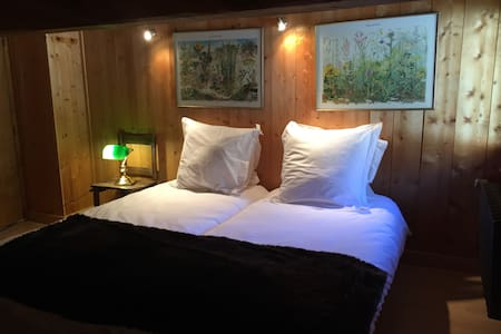 Eclectic Chalet Room  Le Tour at Ski Slopes - Chamonix-Mont-Blanc