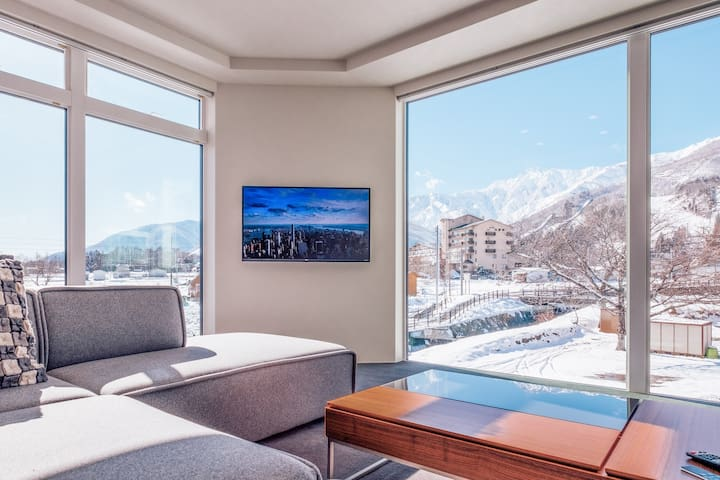 Bluebird Apartments | New Onsen is 150m away.