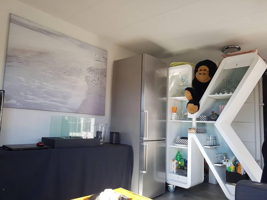 Extra Fridge with freezer