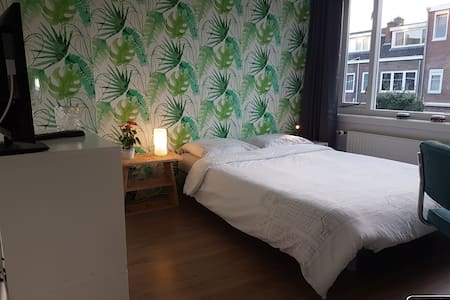 Comfortable room with 2 bikes to move around town - Utrecht - Talo