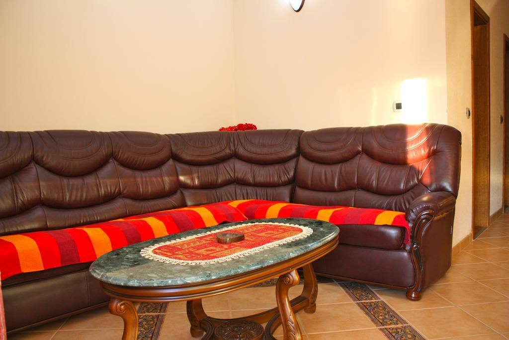 Apartment Katarina has a beautiful couch in the living room where can sleep two people