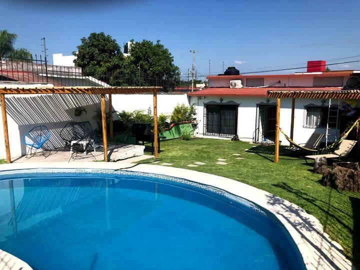 Casa Mía en Oaxtepec /9 personas/con caldera