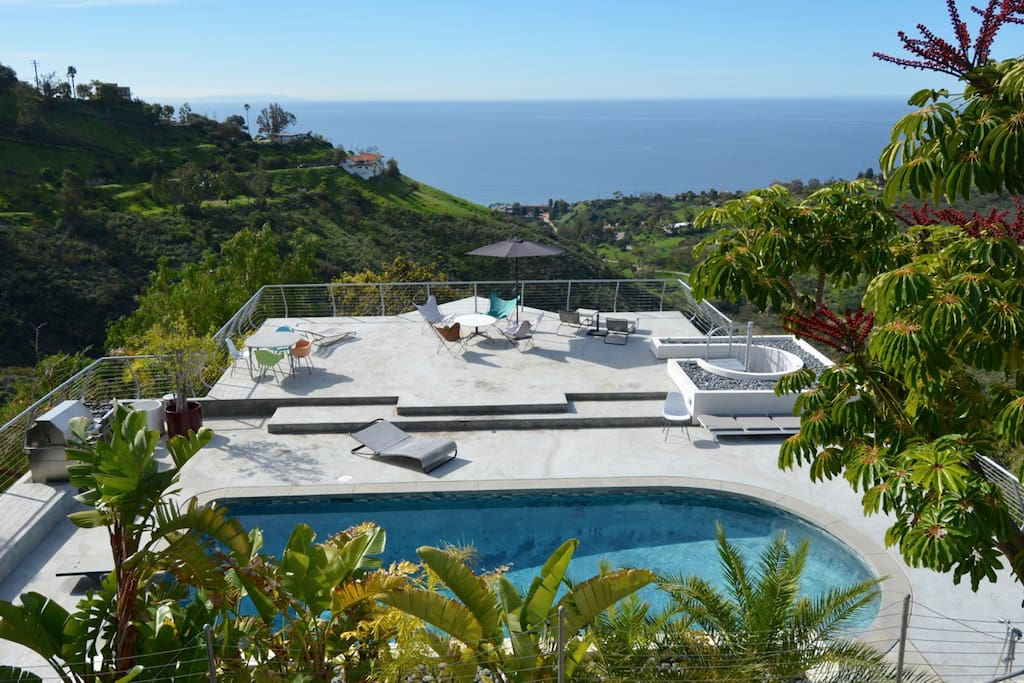 House Under Pool malibu modern 1 bedroom pool house - houses for rent in malibu