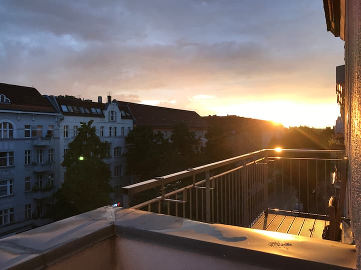 Sommer feeling in Berlin + Balcony + near TXL
