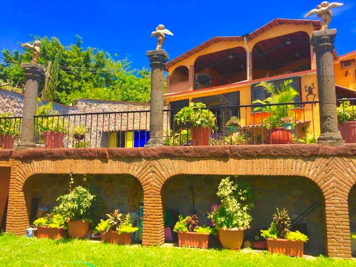 Casa linda en el lago de tequesquitengo
