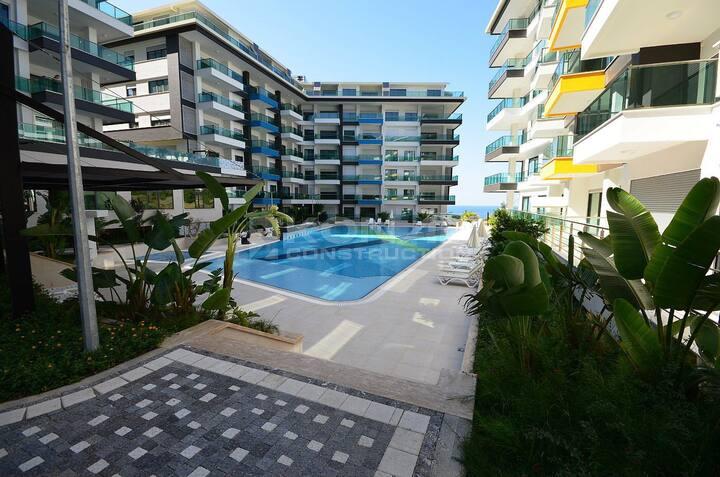 Уютная и комфортная квартира в Konak Resort