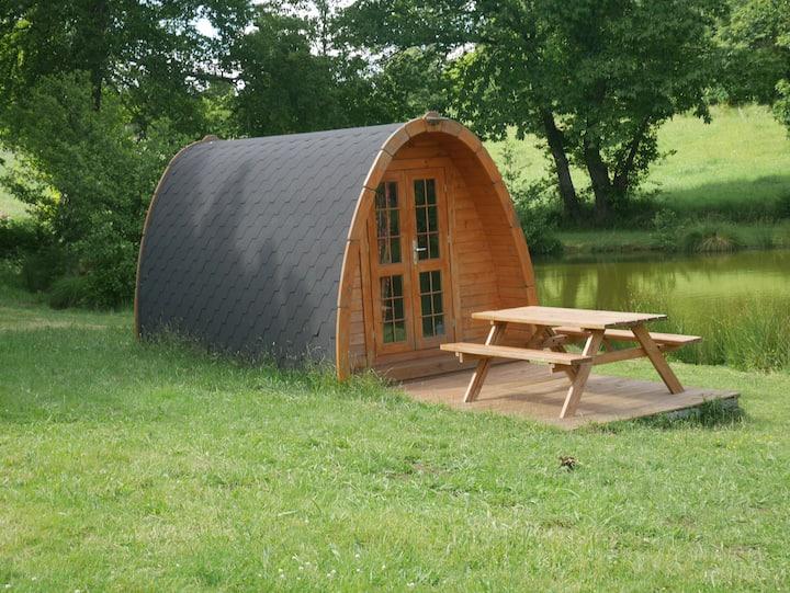 Petite cabane en bois (Pod) Près de 3 étangs