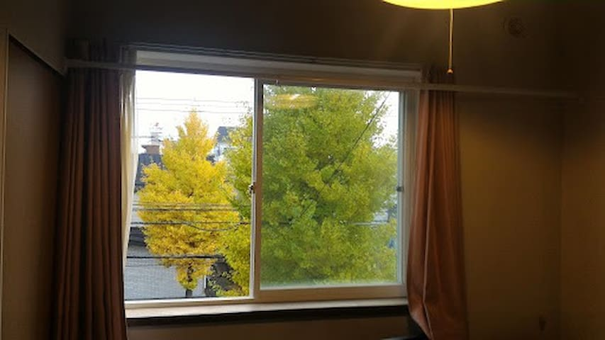 Sunny Room/5min-walk from subway/Free wifi/WG201 - Shiroishi Ward, Sapporo