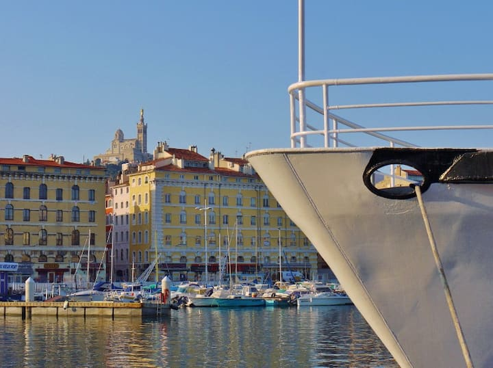 Joli Studio Vieux-Port Marseille
