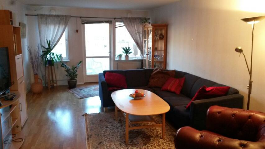 Spacious 3 bed apt. Perfect for larger groups