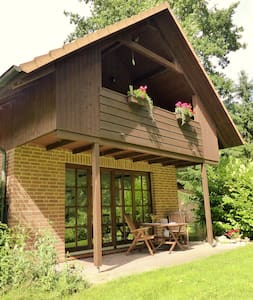 Ferienwohnung Haus am Wald  OG mit Kamin