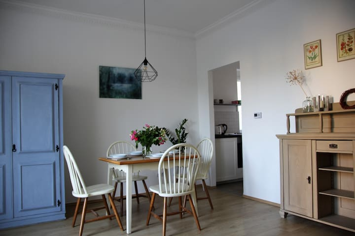 Cozy flat near to center/free parking/FAST WiFi