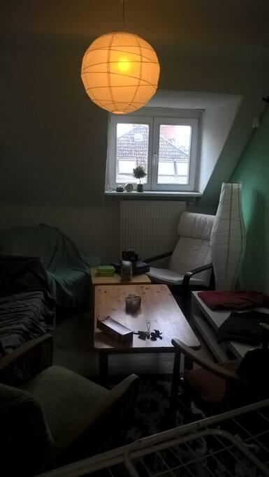 gemeinsames Wohnzimmer