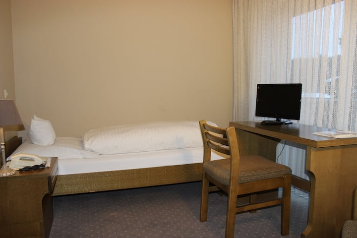 Hotel-Restaurant Waldblick-BSR, (Donaueschingen), Einzelzimmer Classic mit Dusche und WC
