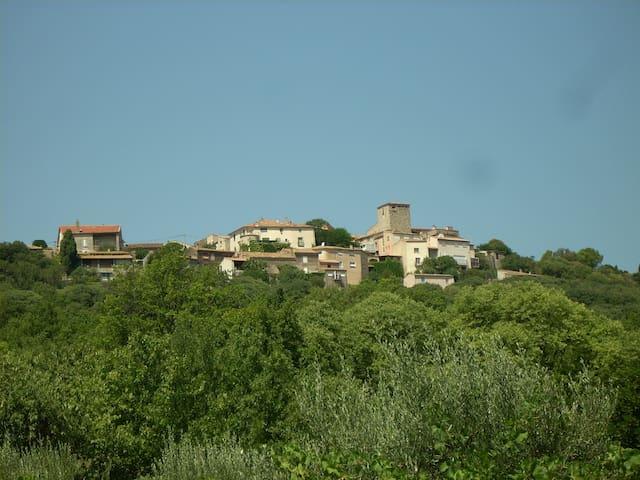 Maison de village, terrasse, jardin - Lacoste - Talo