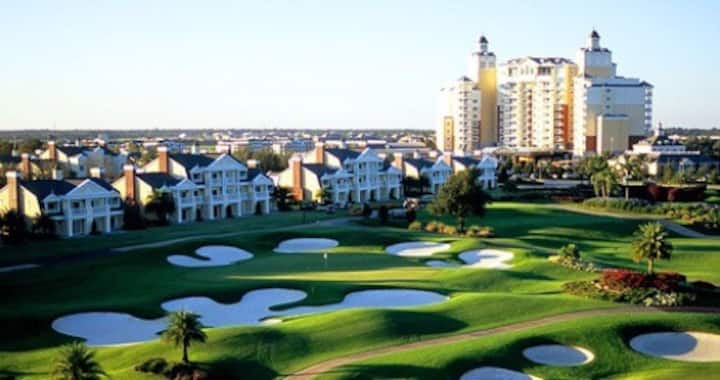 Reunion Resort Grand Golf and Spa deluxe 3 BDRMS