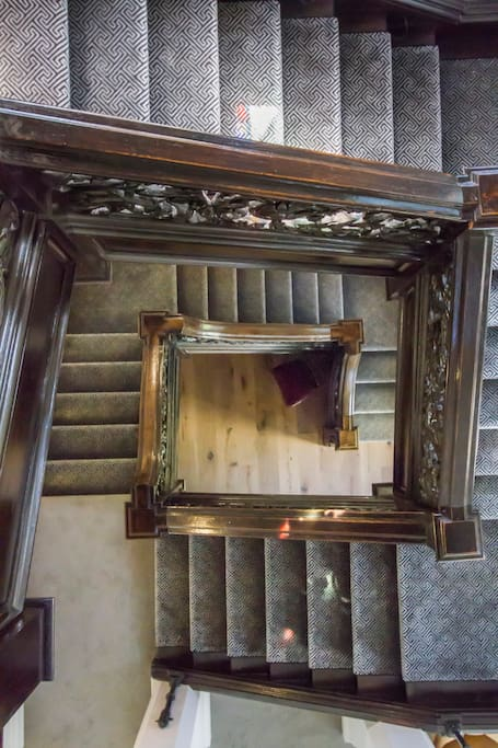 Tudor Staircase up the Tower