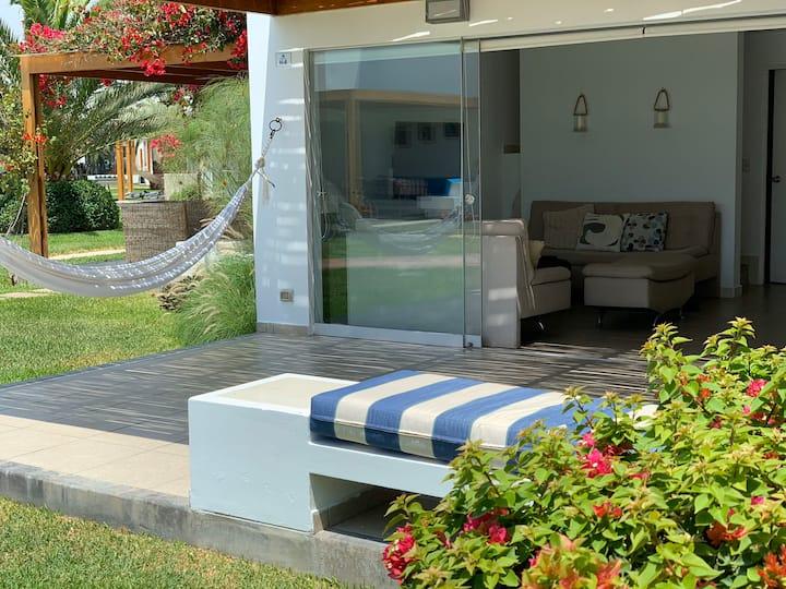 Acogedora Casa de Playa en Condominio Privado