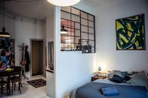 *new* STUDIO CENTRAL APARTMENT made with LOVE