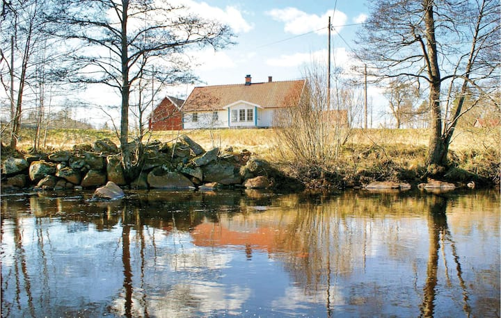 Nice home in Knäred with Sauna and 5 Bedrooms