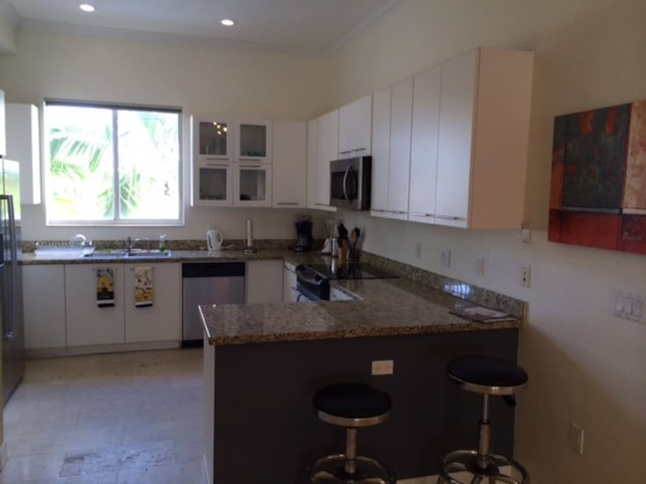 Spacious Kitchen with Laundry
