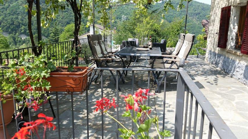 Luksus hjem på sjarmerende ferie blant vingårdene