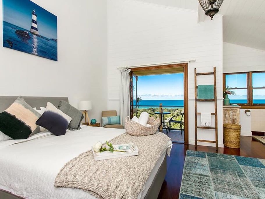 Gorgeous Ocean View from bed. Wake up in paradise!