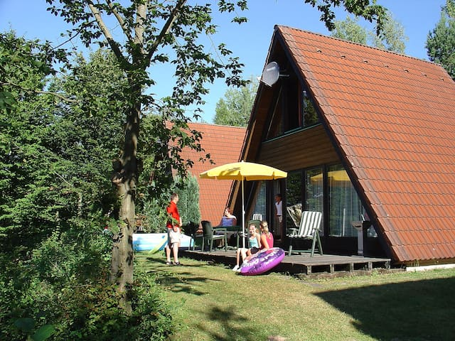 3-room house 68 m² Ferienpark Ronshausen for 6 persons in Ronshausen - Ronshausen - Rumah