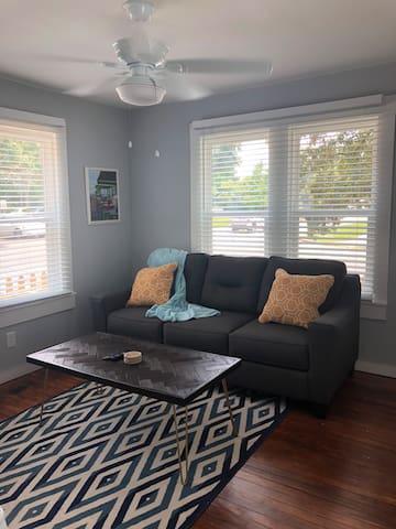 Comfy Queen Sleeper Sofa in Living Area