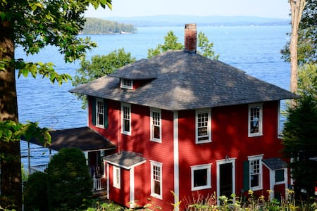 Historic Waterfront Winnipesaukee Cottage