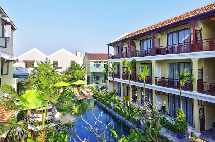 Double Room l Hoian field Villa - Hội An - Boutique hotel