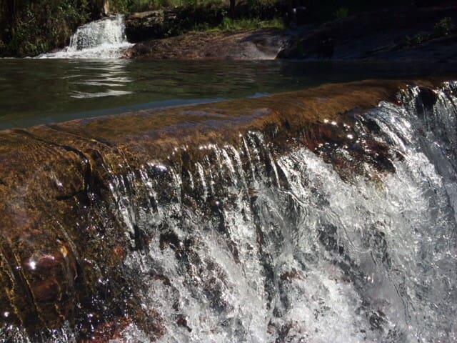 Cachoeiras e paz