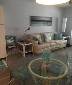 Cozy 1 Bed Condo:Near Siesta Key Beach 55+ - 새러소타