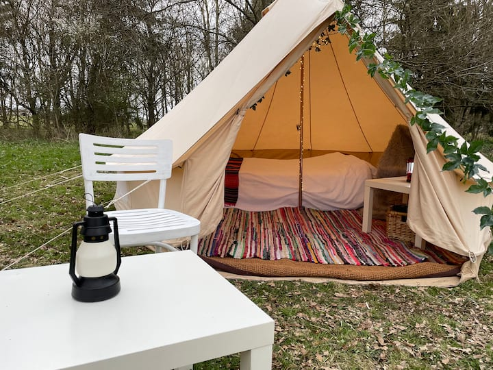 Eco 4M Bell Tent just outside of Watford
