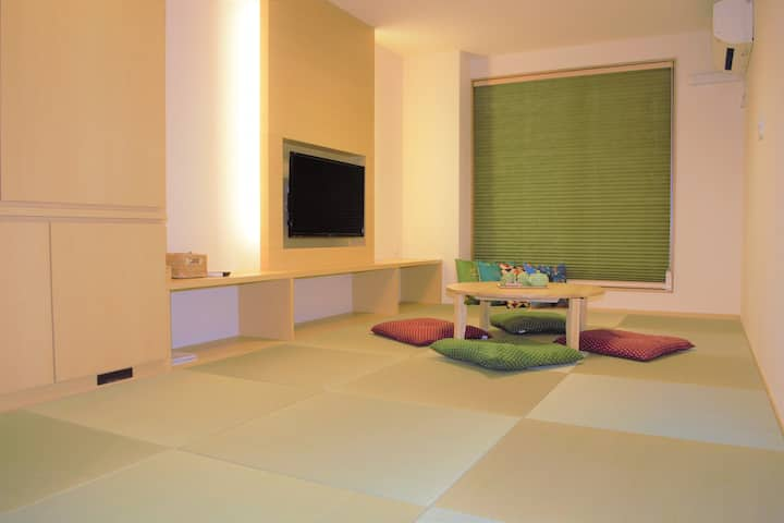 A Home away from home/ tatami room