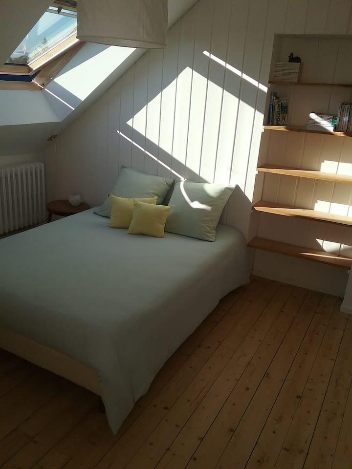 Un étage spacieux / proche centre ville Belfort