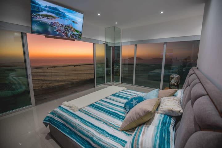 Hermoso departamento frente al mar Mazatlan