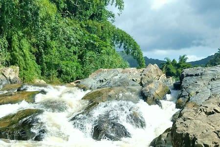 Private Waterfall Caribbean Cabana - Buena Vista