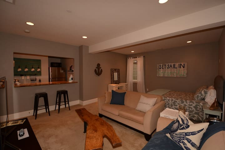 Adorable Downtown Annapolis and Navy Stadium apt. - Annapolis - Apartamento