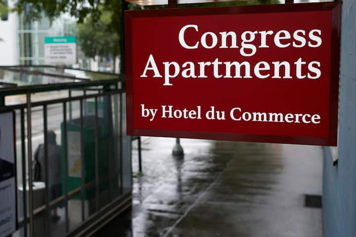 Congress Apartments by HDC