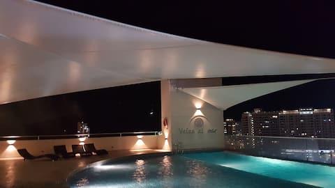 Espectacular apartaestudio en Rodadero Santa Marta