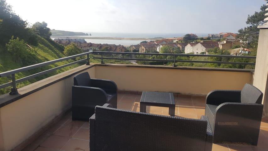 Apartamento En Mogro con vistas al mar