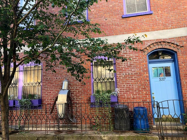 The Blurple Mansion - Childlike Charm
