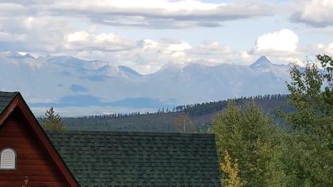 Vistas hermosas a la montaña