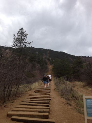 Manitou Incline - the extreme stair master