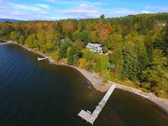 Awesome location on the Eastern Shore of Rangeley Lake!