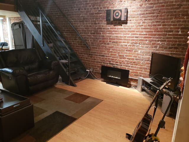REAL Loft in the heart of LoDo (like for real!)